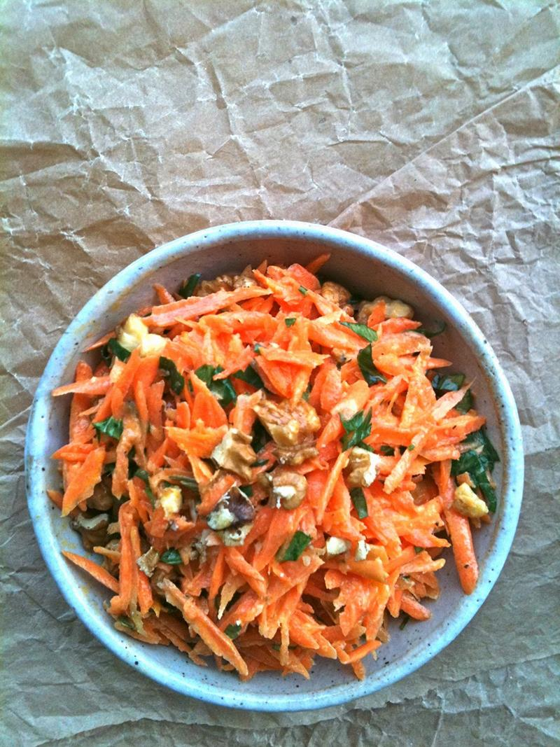 Carrot Salad Perfect Nutritional Brunch In Winter