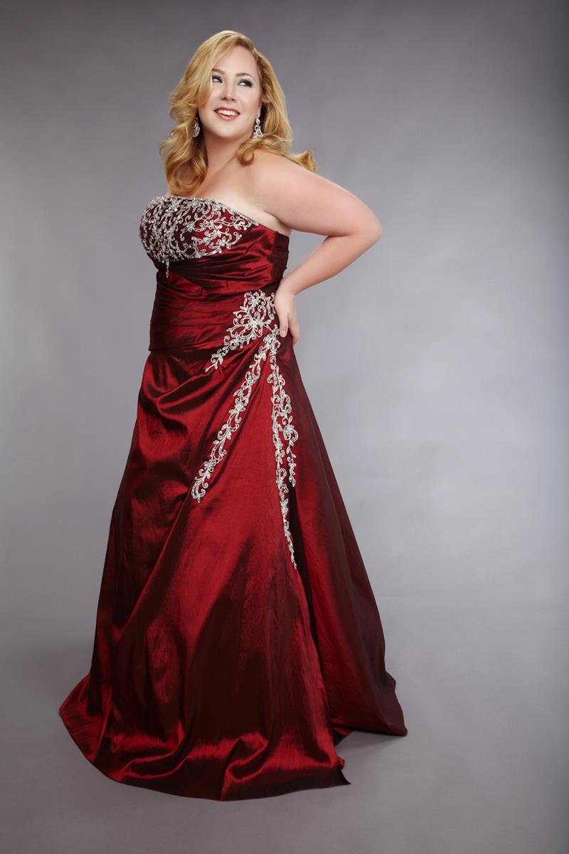 Plus Size Prom Dress Formal Wear - XciteFun.net