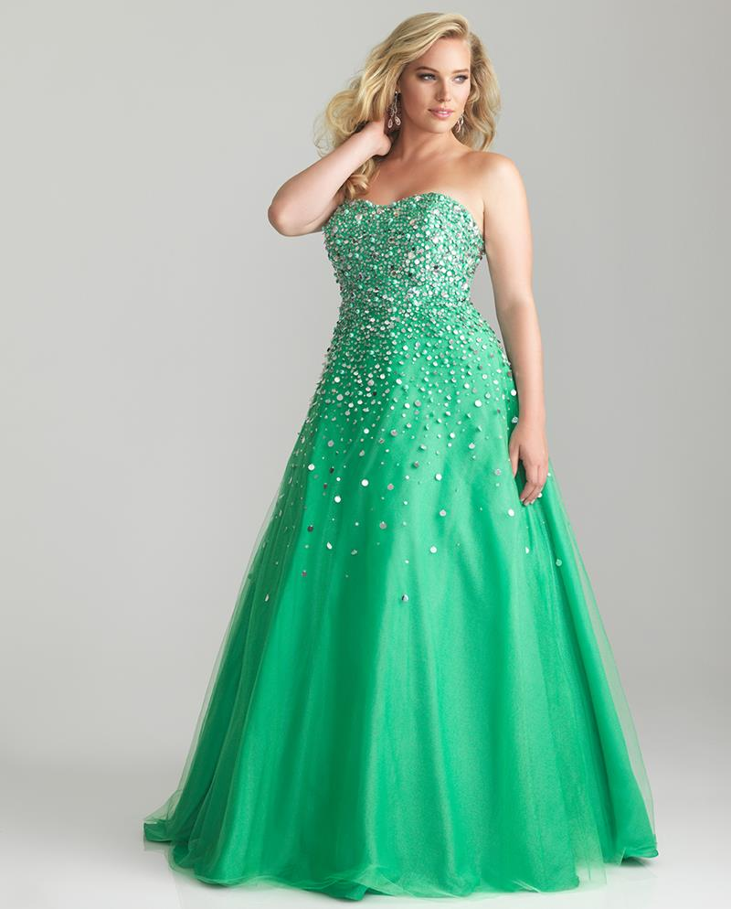 Plus Size Prom Dress Formal Wear