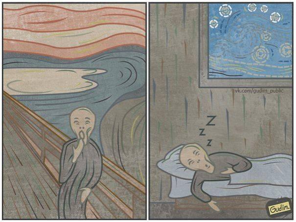 Russian Sarcastic Art