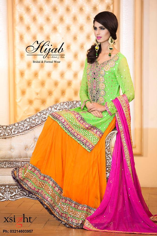 Bridal Wear Dress By Hijab